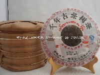 千年茶树景迈螃蟹脚普洱茶 稀世收藏品