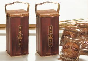 香港奇华*金顶三黄白莲蓉月饼