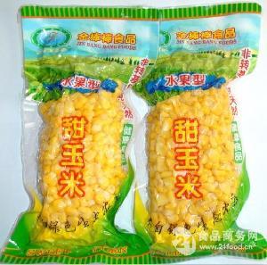 真空包装榨汁专用甜玉米粒