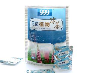 999五花植物凉茶(颗粒)