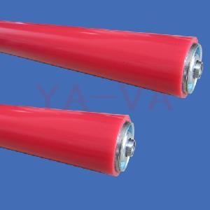 YA-VA专用生产各类包胶自由滚筒 动力滚轮