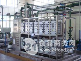 电渗析纯水机+混床超纯水机
