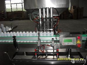 果汁直线灌装机