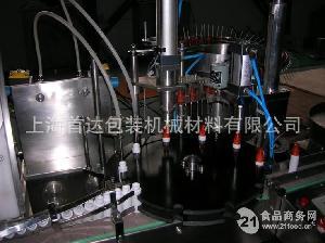 全自动回旋式喷雾剂灌装封口一体机
