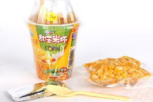 美味可口甜玉米杯