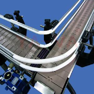 不锈钢单排链板输送机