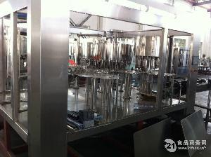 含汽饮料自动冲洗 罐装 封口生产流水线