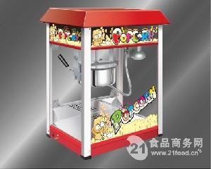 豪华爆米花机燃气 柜式 立式球型电用爆谷机河南郑州