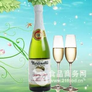 美國進口 Martinelli's 起泡蘋果酒