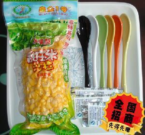 真空包装开袋即食非转基因粗纤维甜玉米粒