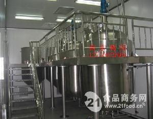 食品厂专用酱料立式恒温搅拌罐