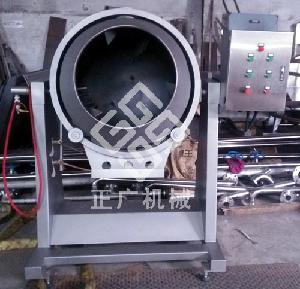 旋转式炒锅