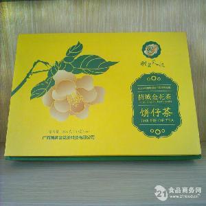 国茗金花茶饼仔茶黄饼