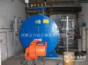 燃油气蒸汽3吨锅炉