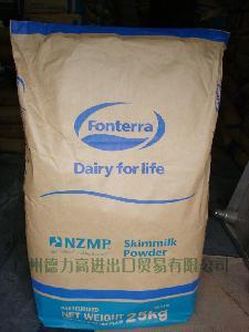 大量批发!热卖新西兰进口恒天然脱脂奶粉