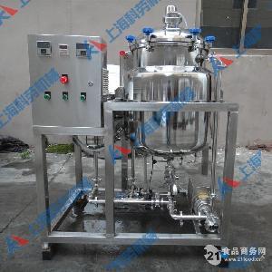 单罐鲜奶吧巴氏杀菌机(250L)