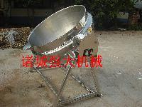 500L炒肉酱刮底搅拌夹层锅可倾夹层锅价格