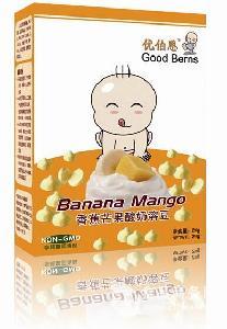 香蕉芒果果蔬酸奶溶豆