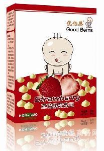 草莓果蔬酸奶溶豆