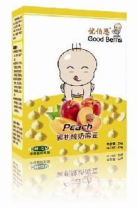 蜜桃果蔬酸奶溶豆