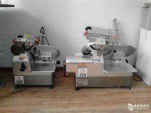 小型台式牛羊肉切卷机全自动操作