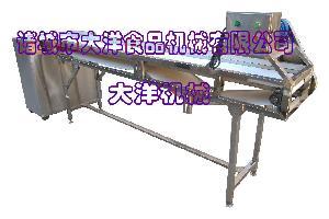 输送型鲜鱿鱼切圈机 自动鱿鱼切割机