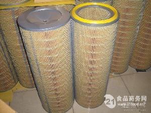 自洁式空气滤筒 钢厂外制空压机除尘滤芯