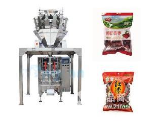 全自动红枣颗粒称重包装机