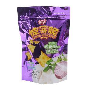 100g袋装酸奶洋葱味惊奇脆饼干*亿智食品