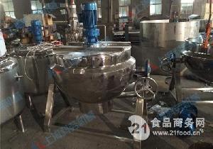 电加热可倾斜式夹层锅