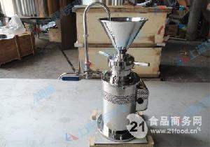 JML-140立式胶体磨(大豆加工设备)