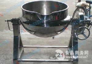 不锈钢夹层锅 可倾斜夹层锅 蒸汽夹层锅