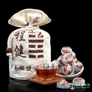 普洱茶老仓糯米香熟茶小沱茶1斤
