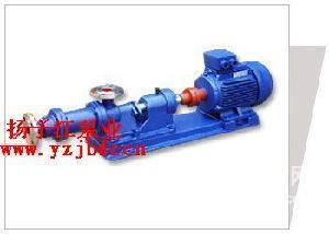 螺杆泵:I-1B系列浓浆泵(整体不锈钢) 耐腐蚀浓浆泵