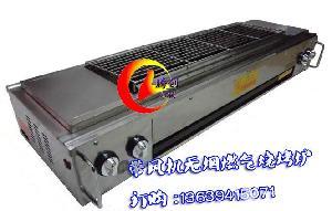 四头节能液化气烧烤炉
