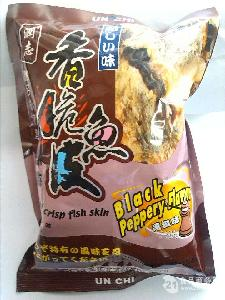 润志深海香脆鱼皮100g黑椒味