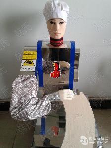 韩氏hs-200厨师刀削面机器人