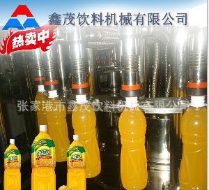 小型葡萄饮料灌装设备生产线