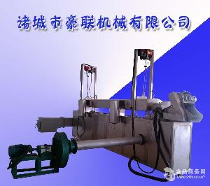 HLZD-8000大型油炸生产线304不锈钢终生维修