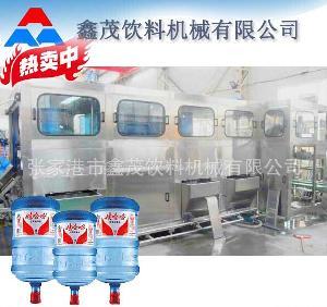 桶装水生产线及拔盖设备