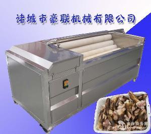 HLXM-1000优质不锈钢式猪蹄毛刷清洗机