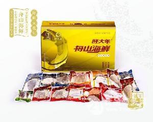 旺大年海鲜大礼包金镶玉系列-D套餐礼盒