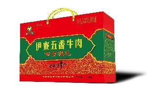 伊赛卤煮熟食五香牛肉节日福礼礼盒1080g/箱