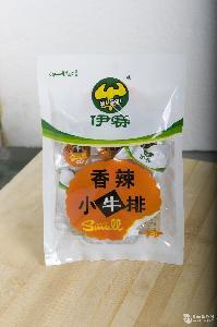 伊赛牛肉卤制品休闲零食五香小牛排60g/袋