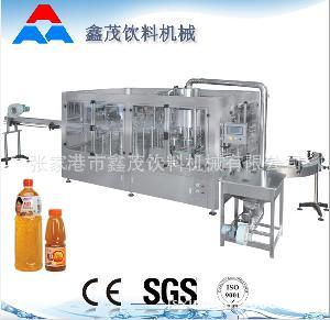 小型果味饮料生产机械设备