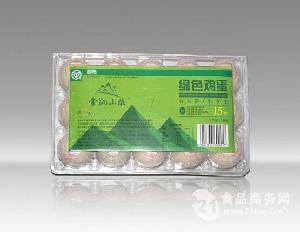 金凯山庄绿色认证鸡蛋 15枚750g
