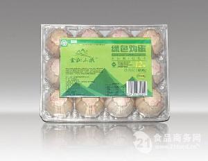 金凯山庄绿色认证鸡蛋  12枚600g