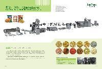 螺旋贝壳油炸小食品膨化机械设备