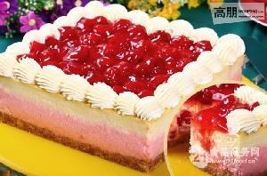 肯利草莓果粒陷蛋糕面包装饰夹心原料批发