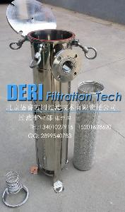 布袋式油机油柴油过滤器
